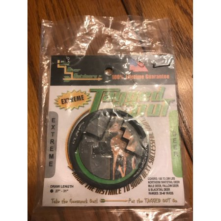 BAD RIVER OUTDOORS - TAGGED OUT EXTREME INSTANT ARCHERY ELK (Best Archery Rangefinder For The Money)