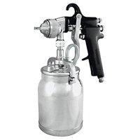 Astro Pneumatic Tool AS7SP Spray Gun with Cup - Black Handle - 1.8mm Nozzle