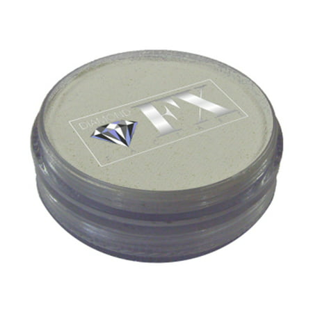 Diamond FX Essential Face Paint - White (45 gm) (White Body Paint Halloween)