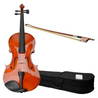 Ktaxon 16 inch Acoustic Viola with Case, Bow, Rosin for Beginners Viola Starter Kit Pink
