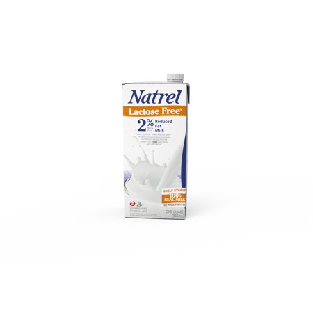 (4 pack) Natrel Reduced Fat 2% Lactose Free Milk, 32 fl