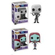 Funko Pop Jack and Sally Nightmare Before Christmas Figure