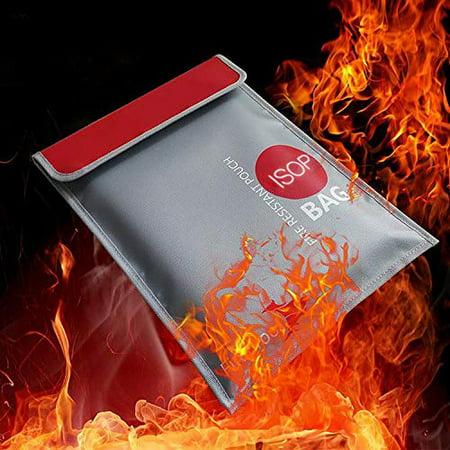 Fireproof Money Safe Document Bag 15