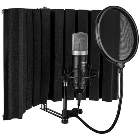 Talent All-In-One USB Home Recording Studio -- Vocal Booth - USB Mic - Shock Mount - Pop