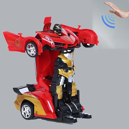 Electric Remote Control Car 1:18 Gesture Induction Deformation Toy Robot - image 7 of 7