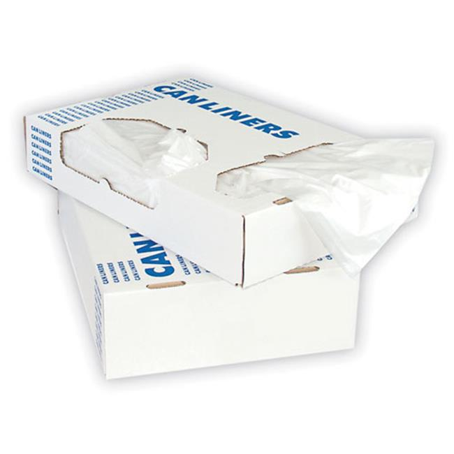 Her H6639HC Low-Density Can Liners, 33gal, .65mil, 30 x 39, Clear, 250/Carton - image 1 de 1