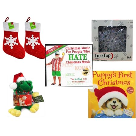 Christmas Fun Gift Bundle [5 Piece] - Be Jolly Sparkle Stocking 19