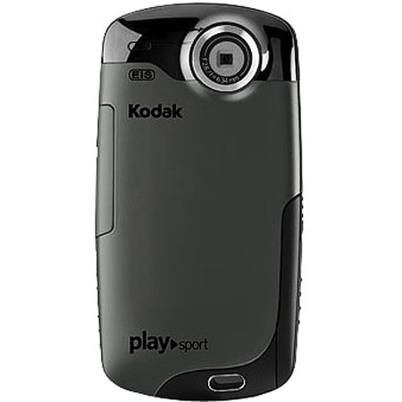 Kodak PlaySport Black Waterproof High-Def Pocket Camcorder, 2.0