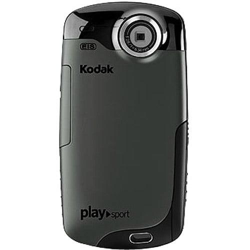 """Kodak PlaySport Black Waterproof High-Def Pocket Camcorder, 2.0"""" LCD"""