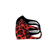 Washable Reusable Fashion Face Mask- Protection from Dust & Droplets- Unisex 2-Pack in Red