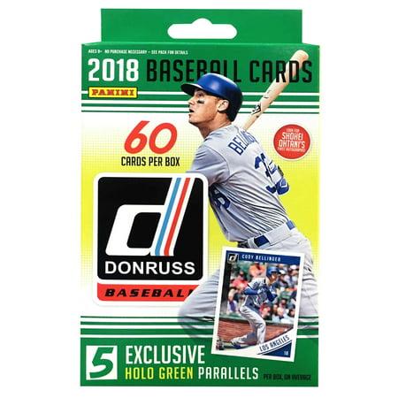 2018 Panini MLB Baseball Donruss Hanger Box Trading (1990 Donruss Mlb Card)