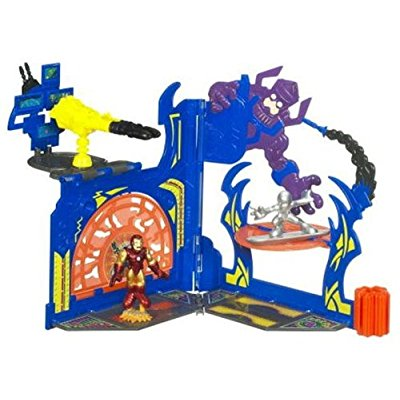 Hasbro marvel superhero squad 3d pop up playset crusaders...
