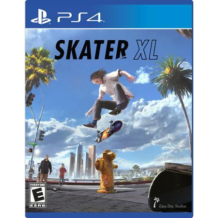 Skater XL, EASYDAY, PlayStation 4, 884095197179