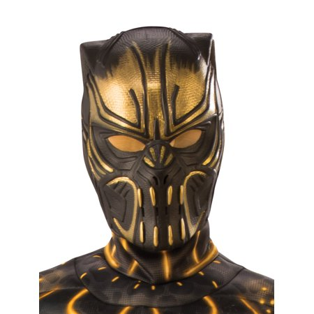 Marvel Black Panther Movie Erik Killmonger Child 1/2 Mask - Panther Kids