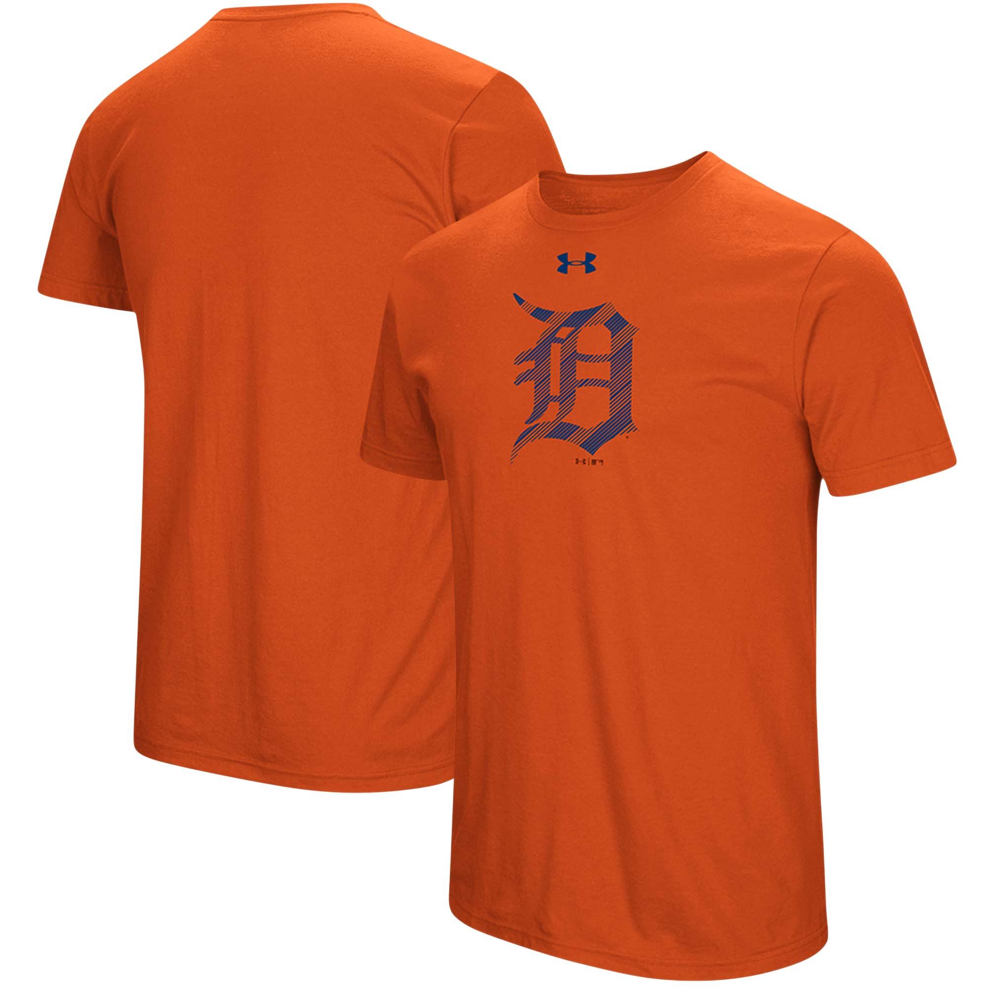 Detroit Tigers Under Armour Passion Alternate Logo T-Shirt - Orange
