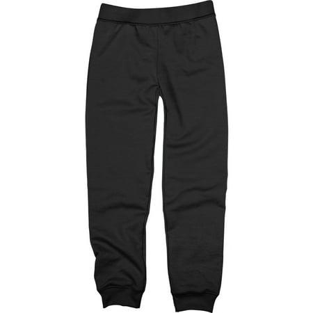 76e8b98cb555 Girls  Fleece Jogger Pants - Walmart.com