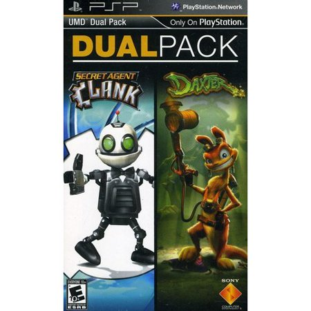 Daxter/Secret Agent Clank 2-pack (PSP)