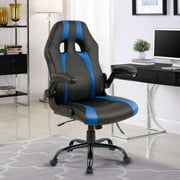 Merax Executive High Back Racing Gaming Chair, PU Leather and Mesh