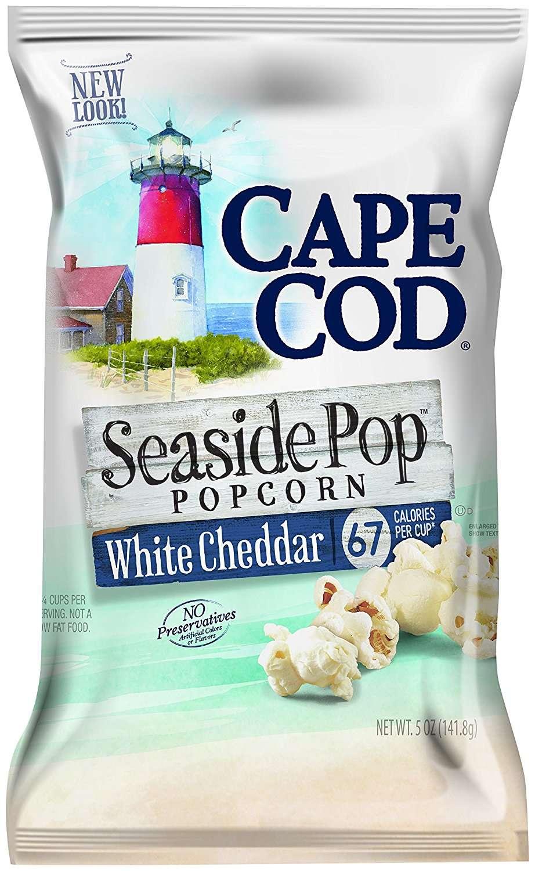 Cape Cod Seaside Pop Popcorn, White Cheddar, 5 Oz by Snyder's-Lance