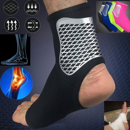 Heepo Ankle Sprain Brace Foot Support Bandage Achilles Tendon Strap Guard (Tendon Strap)