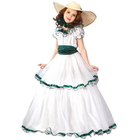 Child Southern Belle Costume - Princess Belle Costume For Teens