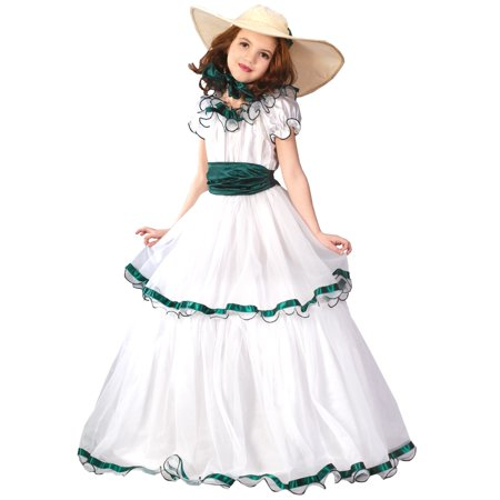 Child Southern Belle Costume - Cheap Belle Costume