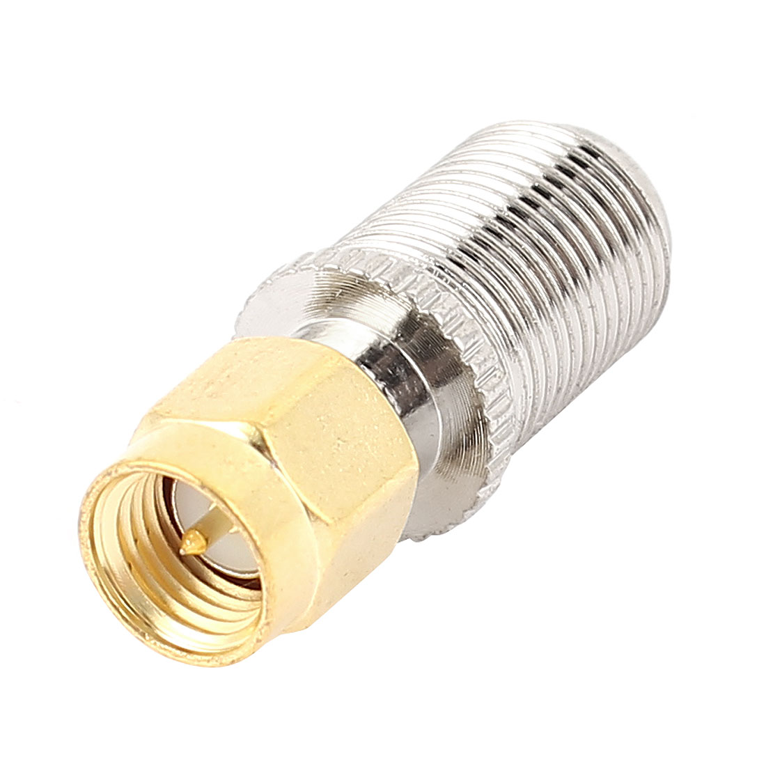 Unique Bargains F Type Female Jack to SMA Male Straight Adapter RF Connector Converter
