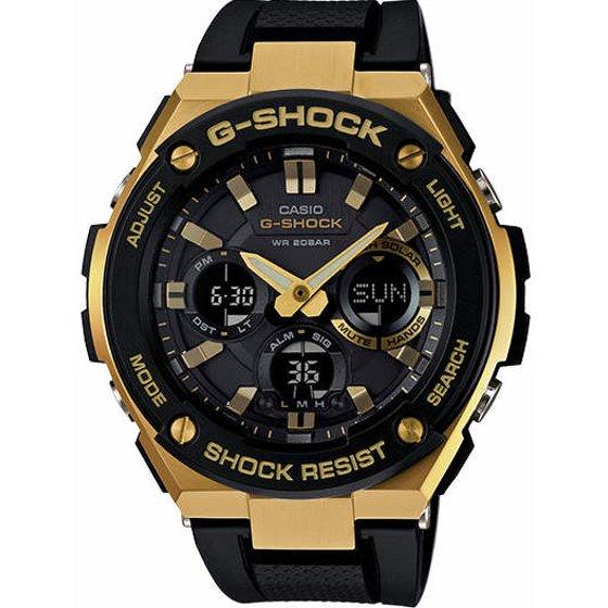 80508813e4af Casio - Casio G-Shock G-Steel Solar Power Ana-Digi Watch GSTS100G-1A -  Walmart.com