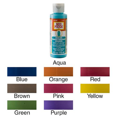 Mod Podge Sheer Color 4oz Blue