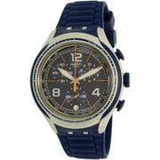 Swatch Men's Xlite YYS4015 Blue Silicone Swiss Quartz Watch