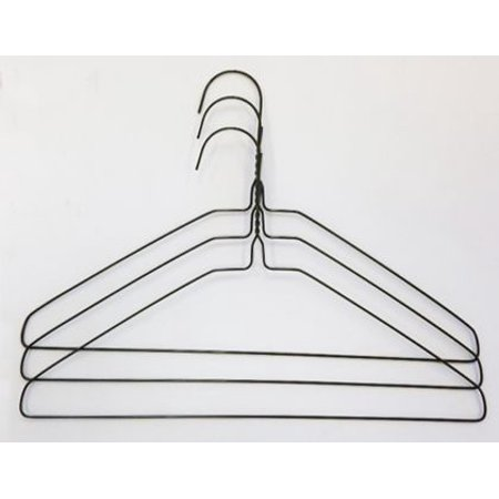 3Hanger Supply Children's Wire Hangers (White, 500 per Box) - Halloween Wire Quilt Hangers
