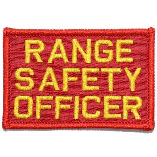 Range Safety Officer - 2x3 Patch