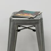 Industrial Metal Modern Barstool- Set of 2
