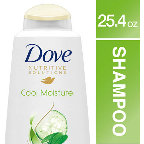 Dove Cool Moisture Shampoo, 25.4 oz