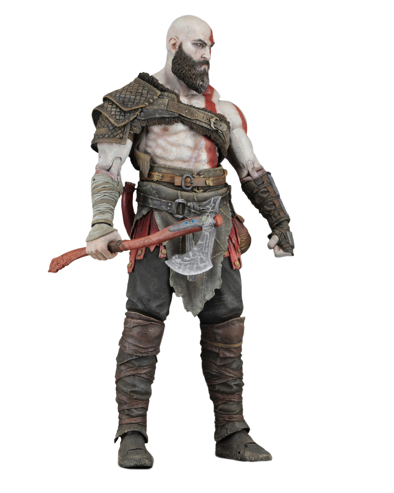 """God of War (2018) 7"""" Scale Action Figure Kratos by Neca"""