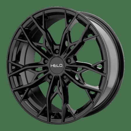 KMC-XD Wheels 16x7 5x114.30 GLOSS BLACK (38 mm) - Lite Black Wheels