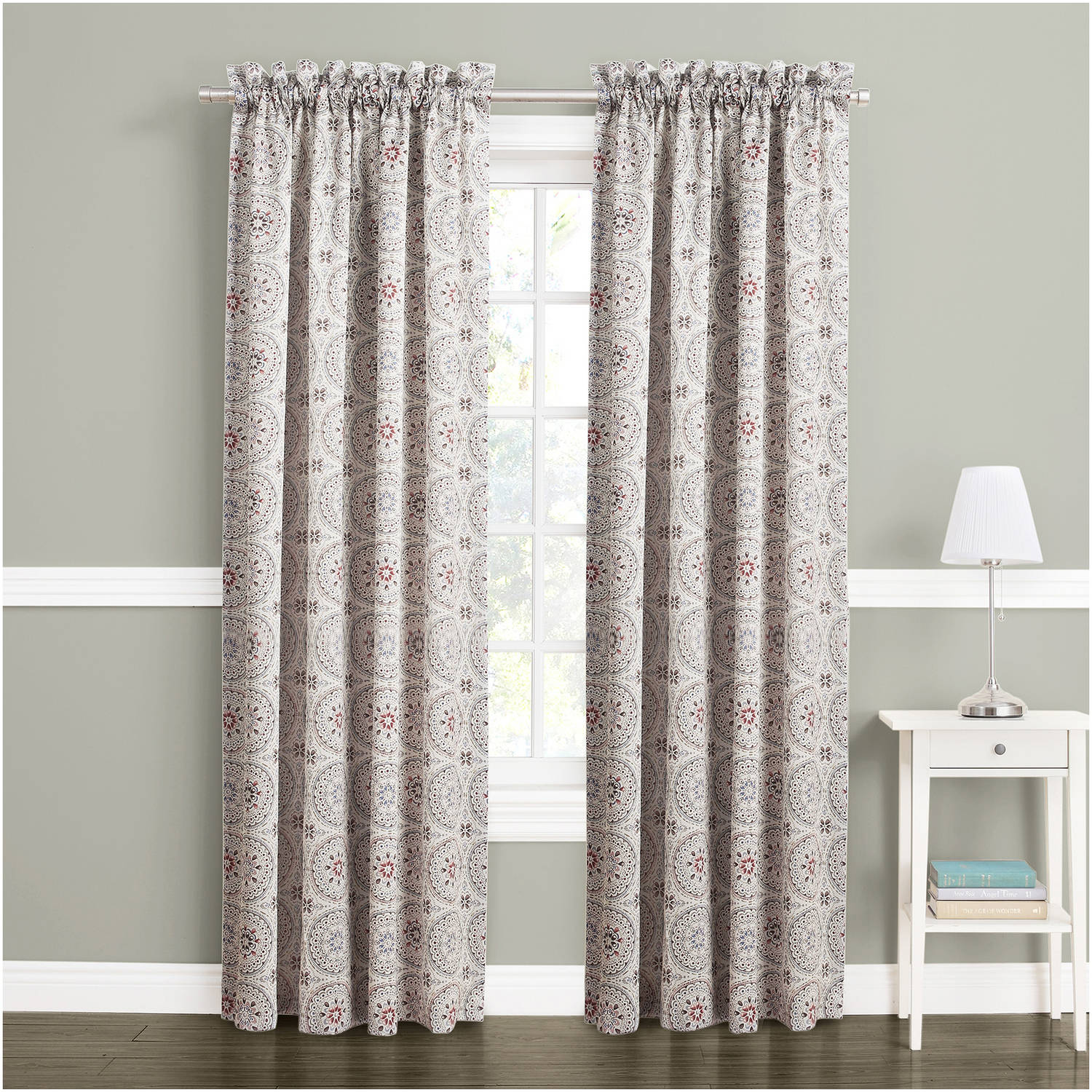 Window Treatment For Living Room Curtains Window Treatments Walmartcom