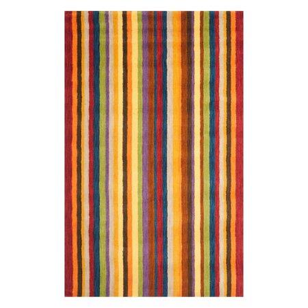 Safavieh Himalaya Sorrel Colorful Stripes Area Rug or Runner