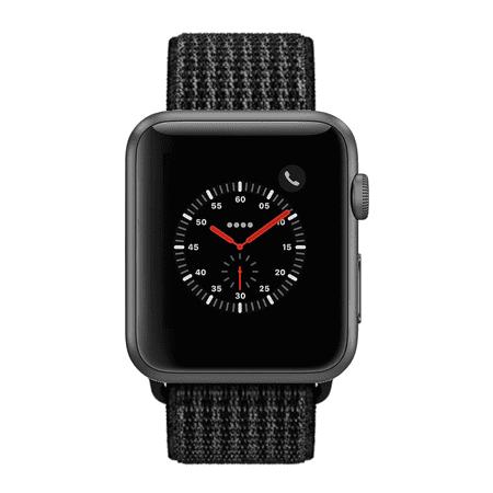 Apple Watch Series 2 - 42mm, WiFi - Space Gray with Black Sport Loop - Certified Refurbished