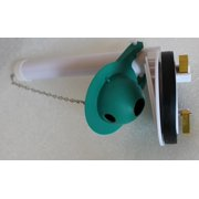 Toto THU013P Flush Valve Assembly with Silicone Flapper for 1-Piece Toilet