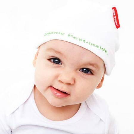 Silly Souls Newborn Baby Boy Organic Pest In-Side Beanie
