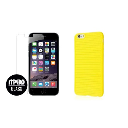 iphone 6 case and screen protector tempered glass
