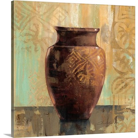 2 Decorative Painting (Canvas On Demand 'Glazed Pot II Decorative Accents' by Silvia Vassileva Painting Print on)