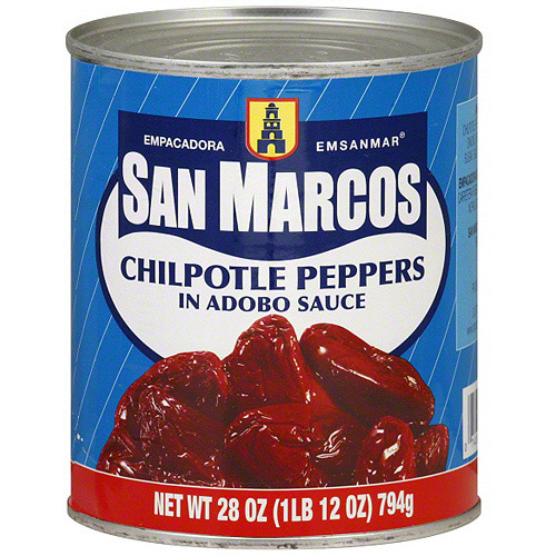 Empacadora San Marcos Chipotle Peppers, 28 oz (Pack of 12)