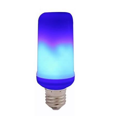 Led Flame Effect Light Bulb E27 Standard Base Atmosphere
