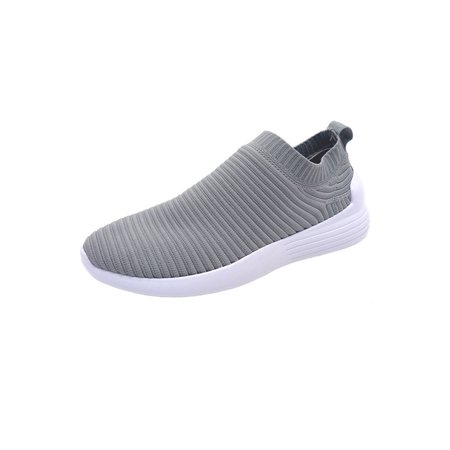 Low Cut Womens Fitness Shoes (womens comfort new fashion hot slip on casual low cut sneaker shoes phoebe-01-8-pink)