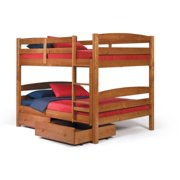 Woodcrest  Pine Ridge Square Post Full/ Full Bunk Bed