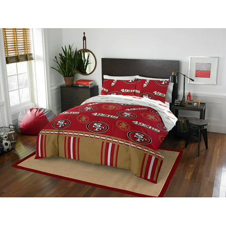NFL San Francisco 49ers Bed In Bag Set