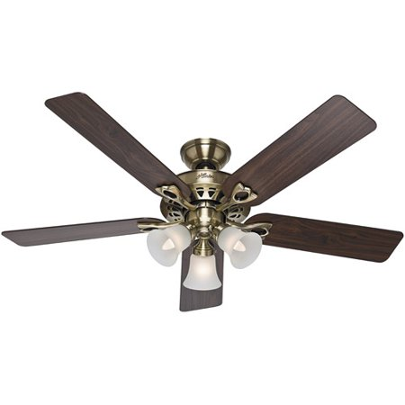 Hunter fans 52 sontera ceiling fan antique brass walmart hunter fans 52 sontera ceiling fan antique brass aloadofball Choice Image