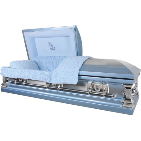 Overnight Caskets, Funeral Casket, Praying Hands Monarch